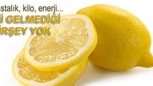 Limonun Sayısız Faydası